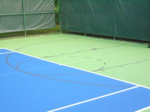 Non-Competing Lines on the same court